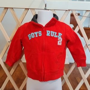 ⭐9m baby boy Carter's zip up⭐